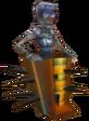 Crash Bandicoot 3 Warped Spiked Mummy Lab Assistant