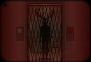 Case 23 elevator inside