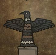 Mr crow stalagmite