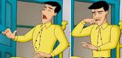 CG- Ted sneezing