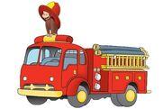 Fireman Monkey George