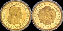 Half argentino 1884
