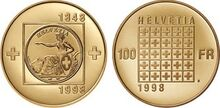 Swiss commemorative coin 1998b