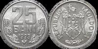 Moldovan 25 ban coin