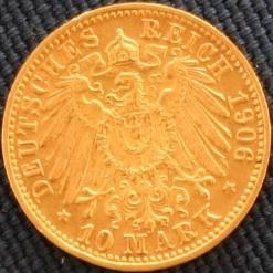 Baden Friedrich I 1906 Revers
