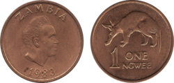 Zambia ngwee 1983