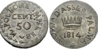 Palmanova 50 centesimo coin