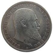 5 Mark Württemberg Wilhelm II