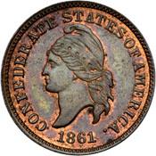 File:Confederate cent restrike obv2.jpg