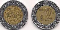 Mexican 2 peso coin