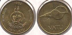 Vanuatu vatu coin 1983