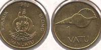 Vanuatu 1 vatu coin