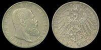 Württemberg 2 mark coin