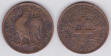 AEF 1 franc 1943