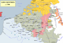 Low Countries 1700