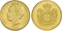 Portuguese 10,000 real coin