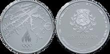 Estonia 10 euro 2014 Olympics