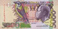 São Tomé and Príncipe 5000 dobra banknote