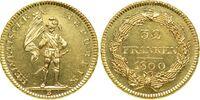 Swiss 32 frank coin