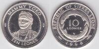 Sierra Leonean 10 leone coin