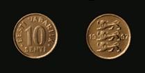 Estonia 10 senti 1997