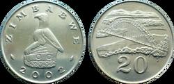 Zimbabwe 20 cents