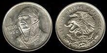 Mexico 1 peso 1950