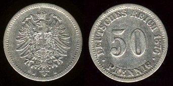 File:Deutsches Reich 50 pfennig 1876.jpg