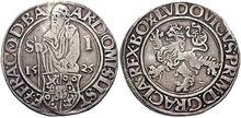 Joachimsthaler 1525