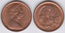 Australia 1 cent 1967