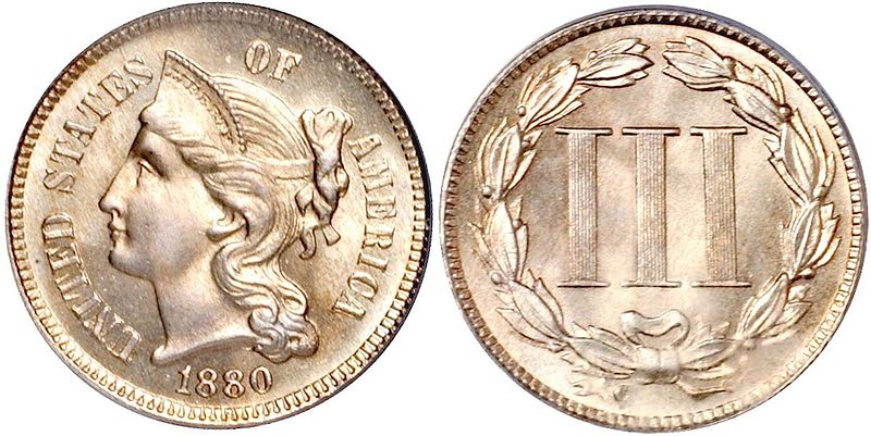 United States 3 Cent Coin Currency Wiki Fandom Powered