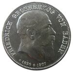5 Mark Baden Friedrich I. Tod
