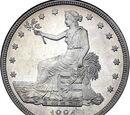 United States trade dollar