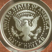 2009 US proof half dollar rev