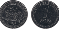 Central African 1 franc coin