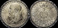 Saxe-Meiningen 2 mark George 1915