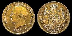 Napoleonic 20 lire