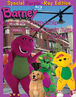 Barney---A-Quest-for-Friendship---A-Super-Duper-New-Movie!-(Poster)-Recovered