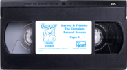 Barney & Friends The Complete Second Season Tape 1