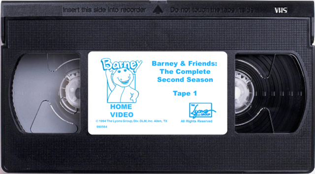 File:Barney & Friends The Complete Second Season Tape 1.png