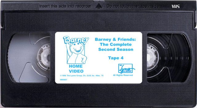 File:Barney & Friends The Complete Second Season Tape 4.png