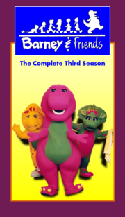 Barney & Friends The Complete Third Season (Fixed Logo