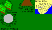 Villages of Targask
