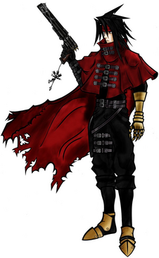 Vincent Valentine artwork
