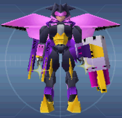 Ray II Dark Custom Robo Arena