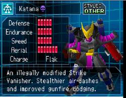 Katana Stats Screen