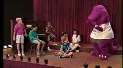 Video Barney The Backyard Gang Rock With Barney - Concert barney wiki