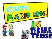 Cute Mario Bros Blue Terror