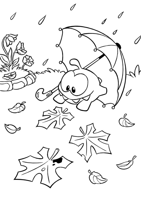 Cut The Rope Coloring Pages Coloring Coloring Pages