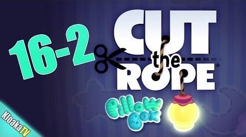 Cut The Rope 16-2 Pillow Box Walkthrough (3 Stars)